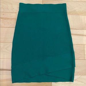 BCBG Max Azria Silvie Criss Cross Bandage Skirt